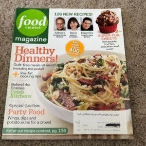 **3 for $5** Food Network Magazine